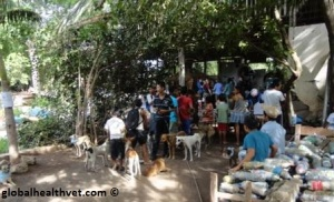 Rural small animal clinic on Ometepe Island, Nicaragua