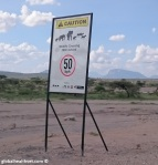 A true One Health situation - Samburu National Park has no barriers, leading to increased interactions between wildlife, livestock and humans